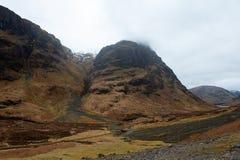 Glencoe, Escocia Imágenes de archivo libres de regalías