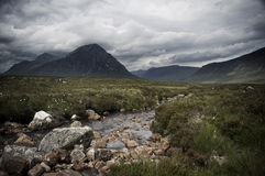 Glencoe Escocia Fotografía de archivo libre de regalías