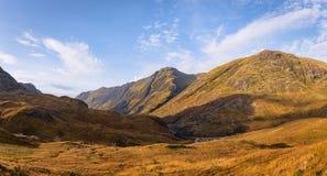 Glencoe góry obrazy royalty free
