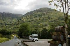 Glencoe. Grampian Mountains. Scotland. royalty free stock images