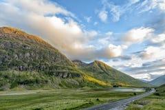 Glencoe-Landschaft lizenzfreies stockbild
