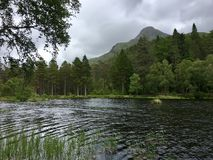 Glencoe Lochan Royalty Free Stock Photography