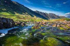 Glencoe Mountain in Scotland Royalty Free Stock Photo