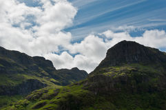 Glencoe mountains Stock Photos