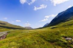glencoe średniogórze Scotland fotografia stock