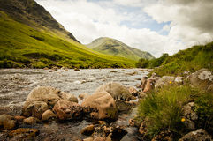 Glencoe river Royalty Free Stock Photography