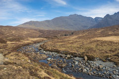 Glencoe, Scotland, the three sisters Royalty Free Stock Image