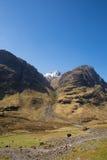 Glencoe Scotland UK stunning mountains and glen in Scottish Highlands Royalty Free Stock Photos