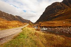 Glencoe, Scottish highlands, Scotland, UK Stock Photography
