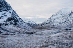 Glencoe Skottland, eniga Kingdowm Arkivfoton