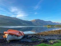 Glencoe-Tal Loch stockbilder