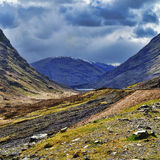Glencoe valley Stock Images