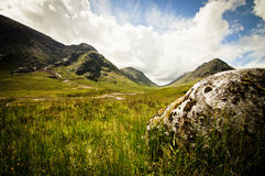 Glencoe valley Stock Photography