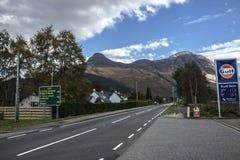 Glencoe Village. Scotland. royalty free stock images