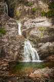 Glencoe Waterfall at Lochaber - Argyll in Scotland Royalty Free Stock Photos
