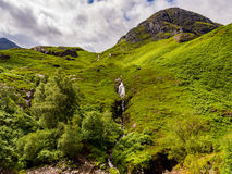 Glencoe waterfall Stock Images