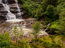 Glencoe waterfall Royalty Free Stock Photo