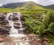 Glencoe waterfall Royalty Free Stock Photos
