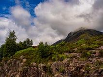 Glencoe waterfall Stock Photo