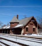 Glencoe-Zug-Depot Lizenzfreie Stockfotografie
