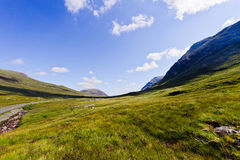 glencoehögland scotland Arkivbild