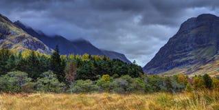 Glencoen, flodCoe dal 1 Royaltyfri Bild
