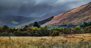 Glencoen, flodCoe dal Royaltyfri Bild