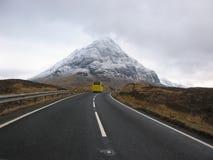 glencoeväg till Arkivfoto