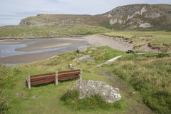 Glencolumbkille海滩;Donegal 免版税库存图片