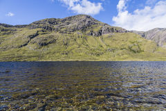 Glencullin lough Fotografia Royalty Free