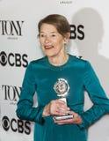 Glenda Τζάκσον στα 2018 βραβείο Tony Στοκ εικόνα με δικαίωμα ελεύθερης χρήσης
