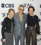 Glenda Jackson, Joe Mantello e Laurie Metcalf Fotografie Stock