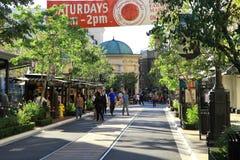 Glendale美国购物中心 免版税图库摄影