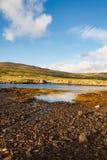 Glendale, île de Skye Photo libre de droits