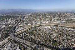 Glendale-Autobahn in Los Angeles Kalifornien Lizenzfreie Stockfotos