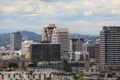 Free Glendale, CA - View Of The City Royalty Free Stock Images - 24064439