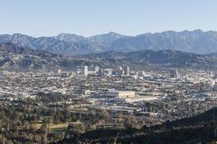 Glendale Californië Mountain View Stock Afbeeldingen