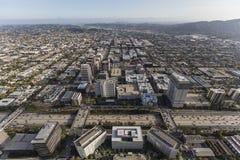 Glendale Kalifornien antenn Royaltyfri Fotografi