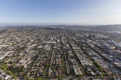 Glendale och Los Angeles Kalifornien Arkivbild