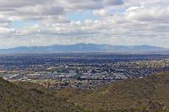 Glendale, Peoria dans une plus grande région de Phoenix, AZ Images stock