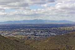 Glendale, Peoria in Greater Phoenix area, AZ. West side of Valley of the Sun – Glendale, Peoria and Phoenix; Arizona stock images