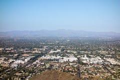 Glendale, Peoria und Phoenix, AZ Stockbild