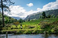Glendaloug dal, Dublin Ireland Royaltyfri Bild