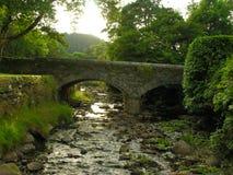 Glendalough桥梁 免版税图库摄影