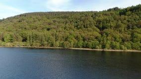 Glendalough的湖在爱尔兰 股票视频