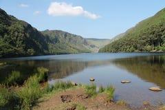 Glendalough的湖 库存图片