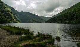 Glendalough,威克洛,爱尔兰 免版税库存照片