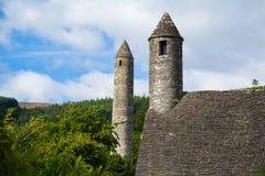 Glendalough, Co威克洛 免版税库存照片