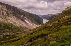 Glendalough, Co.威克洛,爱尔兰 爱尔兰横向威克洛 免版税库存照片