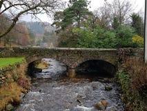 Glendalough-Brücke stockfotografie